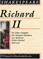 Cover of the book King Richard II by William Shakespeare