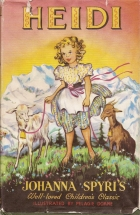 Another cover of the book Heidi by Johanna Spyri