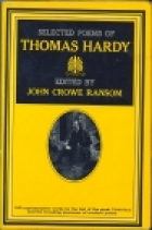 Cover of the book Selected poems of Thomas Hardy by Thomas Hardy