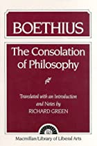 Cover of the book The Consolation of Philosophy by Anicius Manlius Severinus Boethius