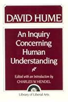 Cover of the book An Enquiry Concerning Human Understanding by David Hume