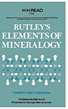 Cover of the book Elements of mineralogy by Frank Rutley