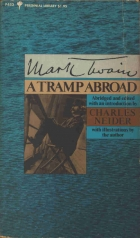 Another cover of the book A Tramp Abroad by Mark Twain