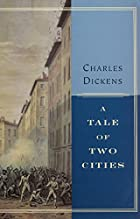 Another cover of the book A Tale of Two Cities by Charles Dickens