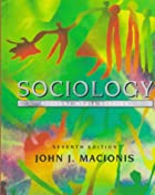Another cover of the book Sociology by John Bascom