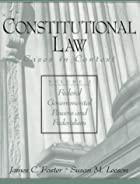 Cover of the book Constitutional law by James Parker Hall