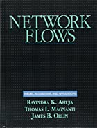 Cover of the book Network flows by Ravindra K. Ahuja