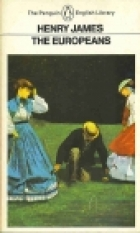 Another cover of the book The Europeans by Henry James