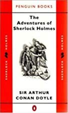 Another cover of the book The Adventures of Sherlock Holmes by Arthur Conan Doyle