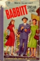 Another cover of the book Babbitt by Sinclair Lewis