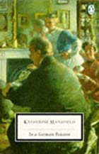 Another cover of the book In a German Pension by Katherine Mansfield
