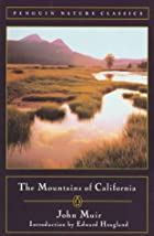 Cover of the book The Mountains of California by John Muir