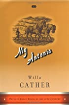 Another cover of the book My Ántonia by Willa Cather