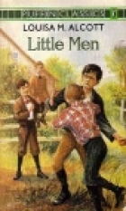 Another cover of the book Little Men by Louisa May Alcott