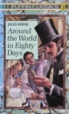 Cover of the book Around the world in eighty days by Jules Verne