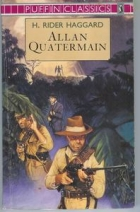 Another cover of the book Allan Quatermain by H. Rider Haggard