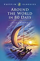 Another cover of the book Around the world in eighty days by Jules Verne