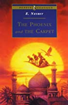 Another cover of the book The Phoenix and the Carpet by E. Nesbit