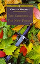 Cover of the book The Children of the New Forest by Frederick Marryat