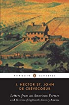 Cover of the book Letters from an American Farmer by J. Hector St. John de Crèvecoeur