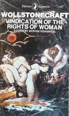Cover of the book A vindication of the rights of woman by Mary Wollstonecraft