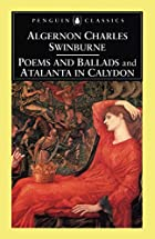 Cover of the book Poems and ballads by Algernon Charles Swinburne