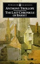 Another cover of the book The last chronicle of Barset by Anthony Trollope