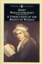Another cover of the book A vindication of the rights of woman by Mary Wollstonecraft
