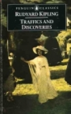 Another cover of the book Traffics and Discoveries by Rudyard Kipling