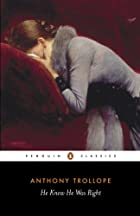 Cover of the book He Knew He Was Right by Anthony Trollope