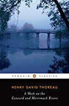 Cover of the book A Week on the Concord and Merrimack Rivers by Henry David Thoreau