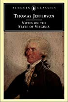 Another cover of the book Notes on the state of Virginia by Thomas Jefferson