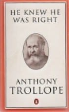 Another cover of the book He Knew He Was Right by Anthony Trollope