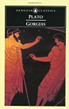 Another cover of the book Gorgias by Plato