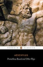 Cover of the book Prometheus bound by Aeschylus