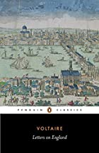 Another cover of the book Letters on England by Voltaire