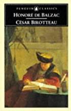 Another cover of the book César Birotteau by Honoré de Balzac