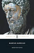 Another cover of the book Meditations by Emperor of Rome Marcus Aurelius