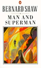Another cover of the book Man and Superman by George Bernard Shaw
