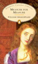 Cover of the book Measure for Measure by William Shakespeare