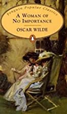 Another cover of the book A Woman of No Importance by Oscar Wilde