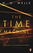 Another cover of the book The Time Machine by H.G. Wells