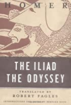 Another cover of the book The Iliad by Homer