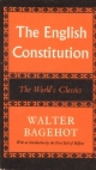 Cover of the book The English Constitution by Walter Bagehot