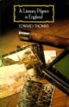 Cover of the book A literary pilgrim in England by Edward Thomas