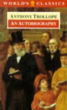 Another cover of the book An autobiography by Anthony Trollope