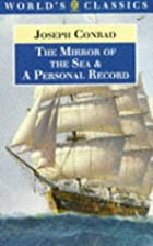 Cover of the book The Mirror of the Sea by Joseph Conrad
