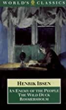 Another cover of the book An Enemy of the People by Henrik Ibsen