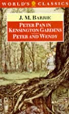 Another cover of the book Peter Pan in Kensington Gardens by J.M. Barrie