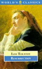 Another cover of the book Resurrection by Leo Tolstoy